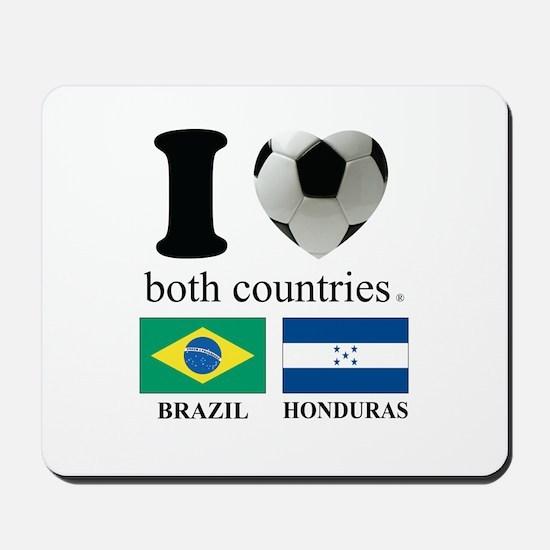 BRAZIL-HONDURAS Mousepad