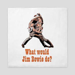 Jim Bowie Queen Duvet