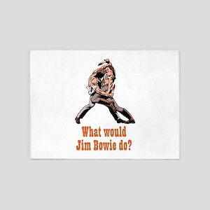Jim Bowie 5'x7'Area Rug