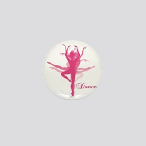 Ballet Dancer Mini Button