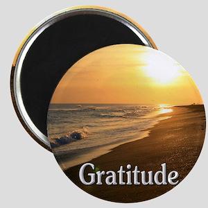 Gratitude for a Beautiful Life Magnet