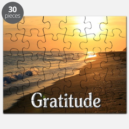 Gratitude for a Beautiful Life Puzzle