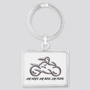 My Keys. My Bike. My Ride. Keychain