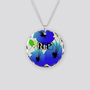Nurse Practitioner Necklace Circle Charm