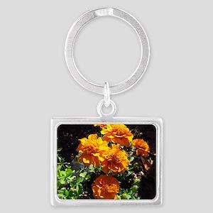 Marigold Landscape Keychain