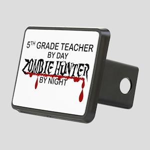 Zombie Hunter - 5th Grade Rectangular Hitch Cover