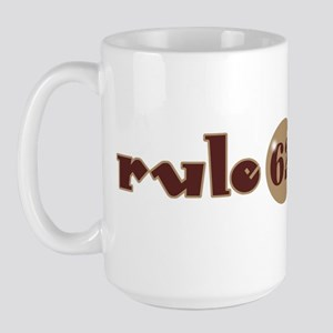 Rule 62 AA Slogan Large Mug