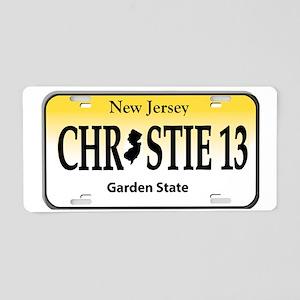christie 13 Aluminum License Plate