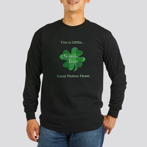 Scotch Irish Plaid Shamrock Long Sleeve T-Shirt