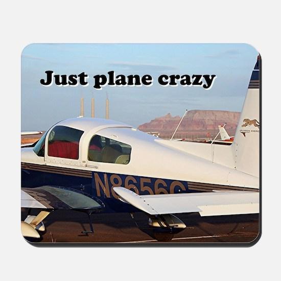 Just plane crazy: aircraft at Page, Ariz Mousepad