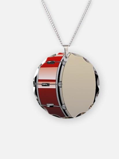 Bass Drum Necklace