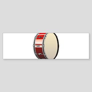 Bass Drum Bumper Sticker