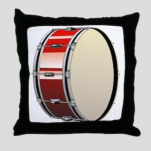 Bass Drum Throw Pillow