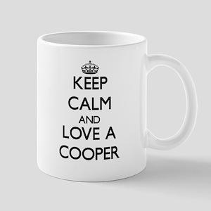 Keep Calm and Love a Cooper Mugs