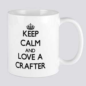 Keep Calm and Love a Crafter Mugs