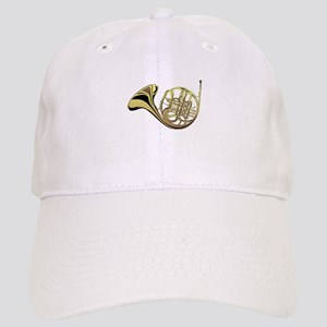 French Horn Baseball Cap