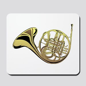 French Horn Mousepad