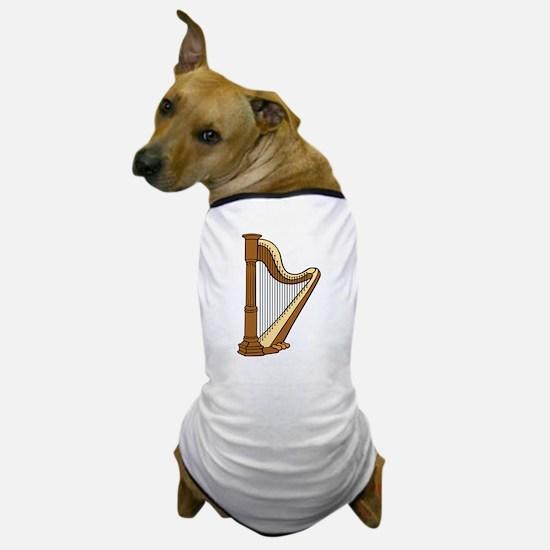 Musical Harp Dog T-Shirt
