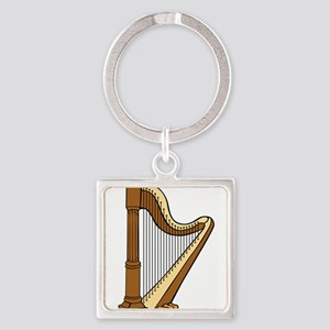 Musical Harp Keychains