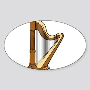 Musical Harp Sticker