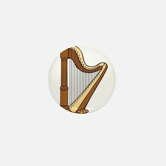 Musical Harp Mini Button