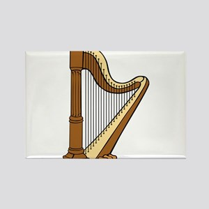 Musical Harp Magnets