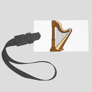 Musical Harp Luggage Tag