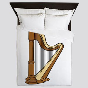 Musical Harp Queen Duvet