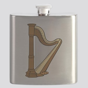 Musical Harp Flask
