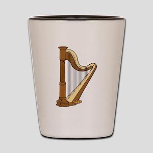Musical Harp Shot Glass
