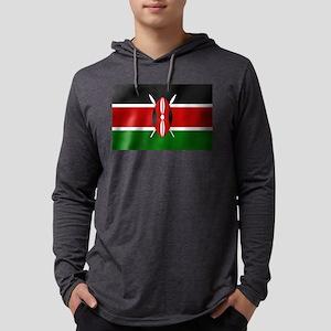 Flag of Kenya Long Sleeve T-Shirt