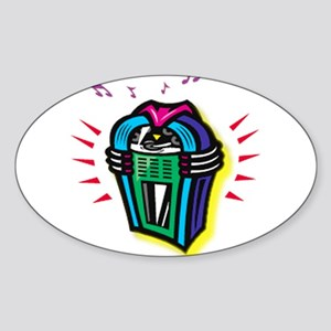 Vintage Jukebox Sticker