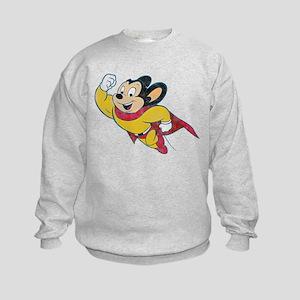 Vintage Mighty Mouse Kids Sweatshirt
