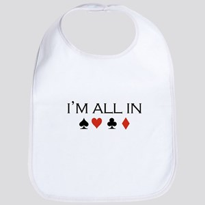 I'm all in /poker Bib