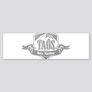 Taos New Mexico Ski Resort 5 Bumper Sticker