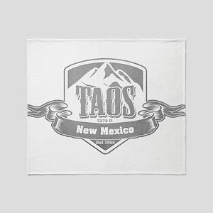 Taos New Mexico Ski Resort 5 Throw Blanket