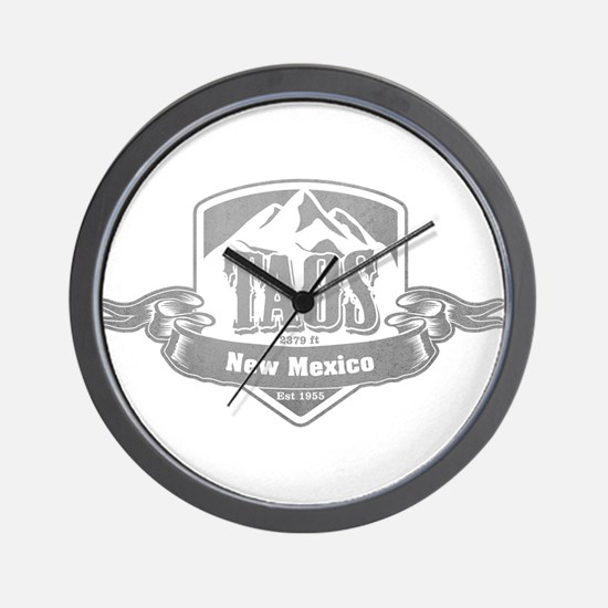 Taos New Mexico Ski Resort 5 Wall Clock