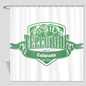 Telluride Colorado Ski Resort 3 Shower Curtain