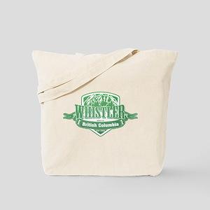 Whistler British Columbia Ski Resort 3 Tote Bag