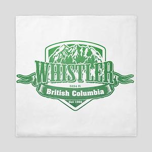 Whistler British Columbia Ski Resort 3 Queen Duvet