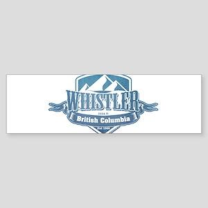 Whistler British Columbia Ski Resort 1 Bumper Stic