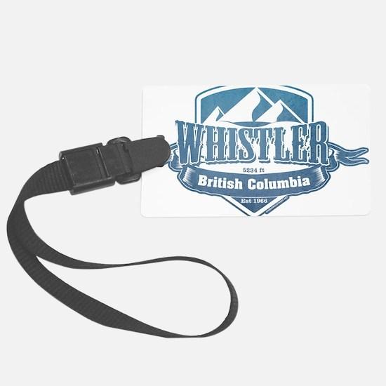 Whistler British Columbia Ski Resort 1 Luggage Tag
