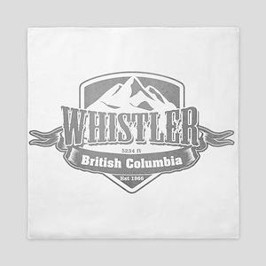 Whistler British Columbia Ski Resort 5 Queen Duvet