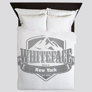 Whiteface New York Ski Resort 5 Queen Duvet