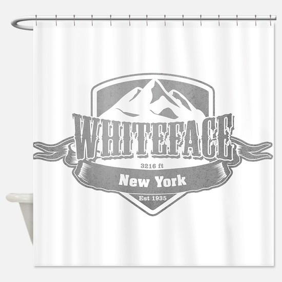 Whiteface New York Ski Resort 5 Shower Curtain