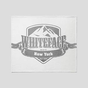 Whiteface New York Ski Resort 5 Throw Blanket