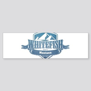 Whitefish Montana Ski Resort 1 Bumper Sticker