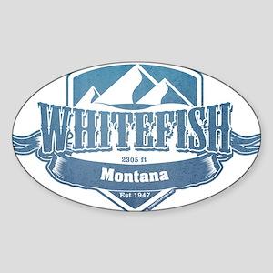 Whitefish Montana Ski Resort 1 Sticker