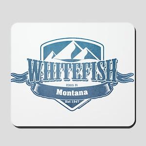 Whitefish Montana Ski Resort 1 Mousepad