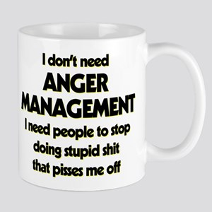 I Don't Need Anger Management 11 oz Ceramic Mug